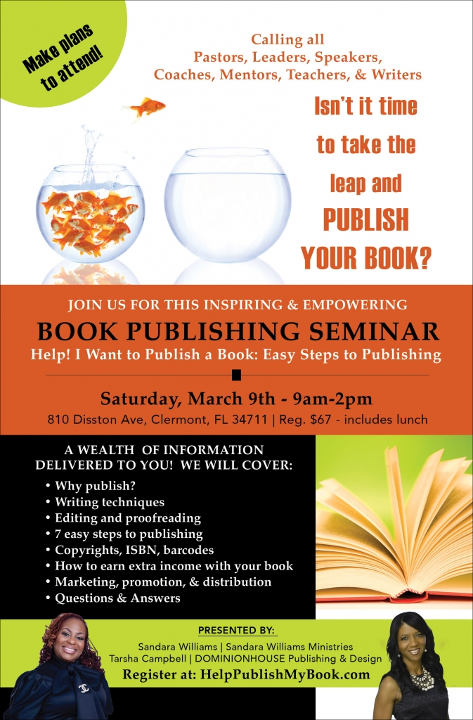 Book Publishing Seminar