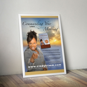 Cindy Trimm Book Promotional Poster