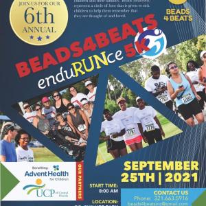 Beads4Beats 5K Run 2021 Flyer